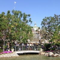 Photo taken at The Grove Water Fountain by Brad Y. on 4/29/2013