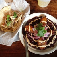 Photo taken at Mas Tacos Por Favor by Stacie H. on 7/3/2013