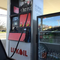 Photo taken at Lukoil by Jay F. on 4/5/2016