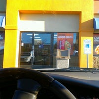 Photo taken at Taco Bell & Pizza Hut Expess by Anthony W. on 2/18/2013