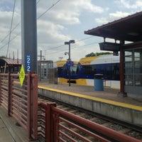 Photo taken at Franklin Avenue LRT Station by Santa E. on 8/20/2013