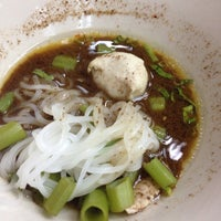 Photo taken at The little & The giant boat noodle by Thidarat P. on 11/5/2014