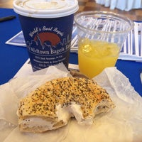 Photo taken at H&H Midtown Bagels East by Megan M. on 4/25/2013