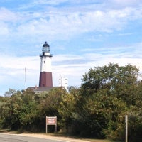 Photo taken at Montauk Point Lighthouse by Giselle P. on 9/21/2012
