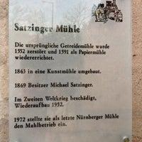 4/25/2013에 Dinçer A.님이 Satzinger Mühle에서 찍은 사진