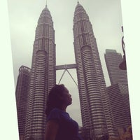 Photo taken at KLCC  Twin Tower by Monasari H. on 2/7/2014