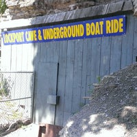 Photo taken at Lockport Cave & Underground Boat Ride by Robert E. on 6/27/2014