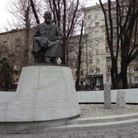 Photo taken at Abay Kunanbayev Monument by TIMUR S. on 4/27/2013