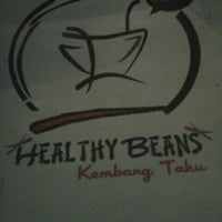 Photo taken at Healthy Beans by Ade W. on 10/13/2015