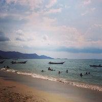 Photo taken at Playa La Galera by Alberto P. on 8/31/2013