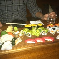 Photo taken at Blue Ribbon Sushi Izakaya by Olga L. on 2/24/2013