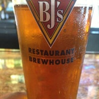 Photo taken at BJ's Restaurant and Brewhouse by Chris A. on 4/26/2013