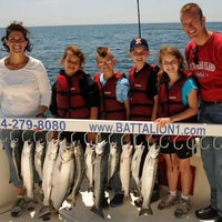 Photo taken at Battalion 1 Sport-Fishing Charters by Robert B. on 4/24/2013