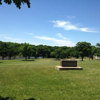 Photo taken at helgeson Memorial Park by Miguel G. on 6/3/2014