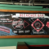 Photo taken at The Bleacher Bar by Abdiel S. on 6/12/2013