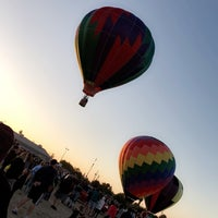 Photo taken at Clovis Rodeo Grounds by Lina E . on 10/30/2017