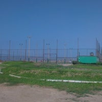 Photo taken at Cancha Fulbito Costa Verde by Jorge B. on 1/20/2013