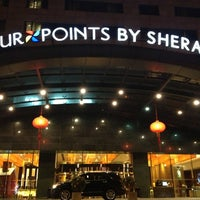 Photo taken at Four Points by Sheraton Beijing, Haidian Hotel and Serviced Apartments 北京海淀永泰福朋喜来登公寓酒店 by Joycee L. on 12/29/2014