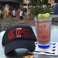 Photo taken at Grey Goose Bar - US Open by Suleyman Can K. on 9/9/2016