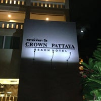 Photo taken at Crown Pattaya Beach Hotel by MakS on 5/5/2013