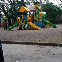 Photo taken at Parque Los Monos by Chris K. on 5/1/2015