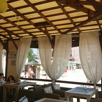 "Photo taken at Гостинница-кафе ""Laguna"" by Grisha M. on 7/27/2015"