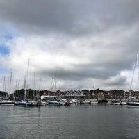 Photo taken at Hamble Point Marina by Merve K. on 6/11/2017