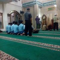 Photo taken at Masjid Al Hasanah by Hars'y M. on 5/6/2014
