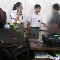 Photo taken at SMA Negeri 2 Medan by Astrid Indah Sari N. on 10/9/2013