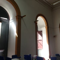 Photo taken at Instituto de Filosofia e Ciências Sociais (IFCS) by Ciro N. on 4/25/2013