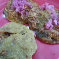 Photo taken at Chac Mol Antojitos Yucatecos by Liliana N. on 9/8/2013
