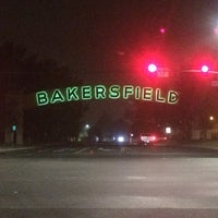 Photo taken at The Bakersfield Sign by Jerry on 10/17/2014