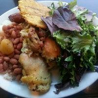 Photo taken at Sol Food Puerto Rican Cuisine by Gelen C. on 7/3/2013