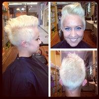 Photo taken at Regis Hair Salon by Abby P. on 7/20/2013