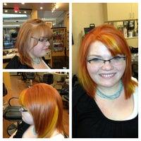 Photo taken at Regis Hair Salon by Abby P. on 5/7/2013