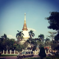 Photo taken at Wat Phra Si Mahathat by Arm R. on 11/4/2012