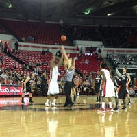 Photo taken at Stegeman Coliseum by Alan A. on 12/18/2012