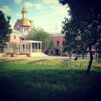 Снимок сделан в Сад им. Баумана пользователем Maria N. 5/11/2013