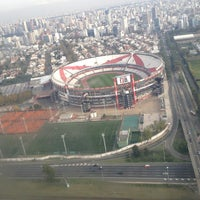"Photo taken at Estadio Antonio Vespucio Liberti ""Monumental"" (Club Atlético River Plate) by Tana on 5/21/2013"