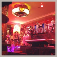 Photo taken at Le Fil Rouge Café by Raf on 3/20/2013