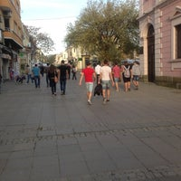 Photo taken at Ул. Александровска (Главната) by Luda P. on 4/28/2013