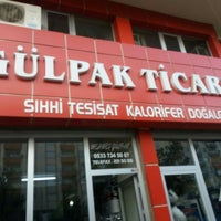 Photo taken at Gülpak Ticaret by Bünyamin İ. on 5/16/2016