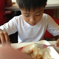 Photo taken at KFC Lucena town proper by Ropher R. on 7/24/2013