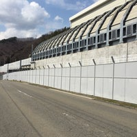 Photo taken at リニア実験線車両基地(東京側) by 内藤 光. on 3/27/2016