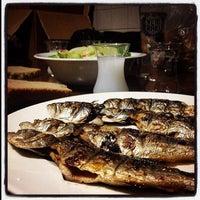 Photo taken at kulübe restaurant by Serkan B. on 10/19/2014