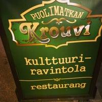 Photo taken at Puolimatkan krouvi by Jupe on 10/31/2014
