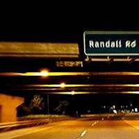 Photo taken at U.S. Route 20 at Randall Road by K. K. on 12/17/2015