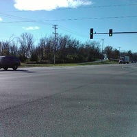 Photo taken at Intersection of US Route 14 & Dean Street by K. K. on 10/31/2012