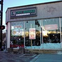 Photo taken at Lucky Brake Bicycles by K. K. on 11/24/2012