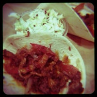 Photo taken at Saucy Taco by James W. on 4/29/2013